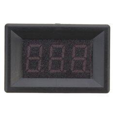 0.36 Digital Voltmeter DC 0-100V 3 Wires LED Car Auto Voltage Volt Panel Meter Blue