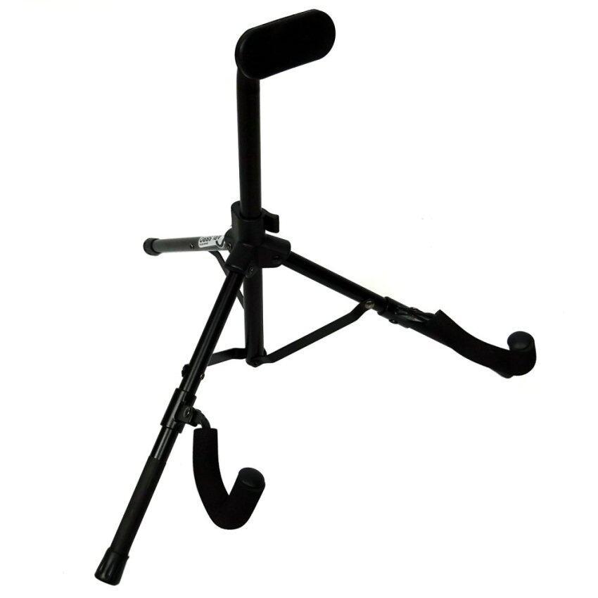 Carlsbro ขาตั้งกีตาร์ไฟฟ้า แบบพับได้ รุ่น DG096B (ขาวางกีตาร์ไฟฟ้า) - สีดำ