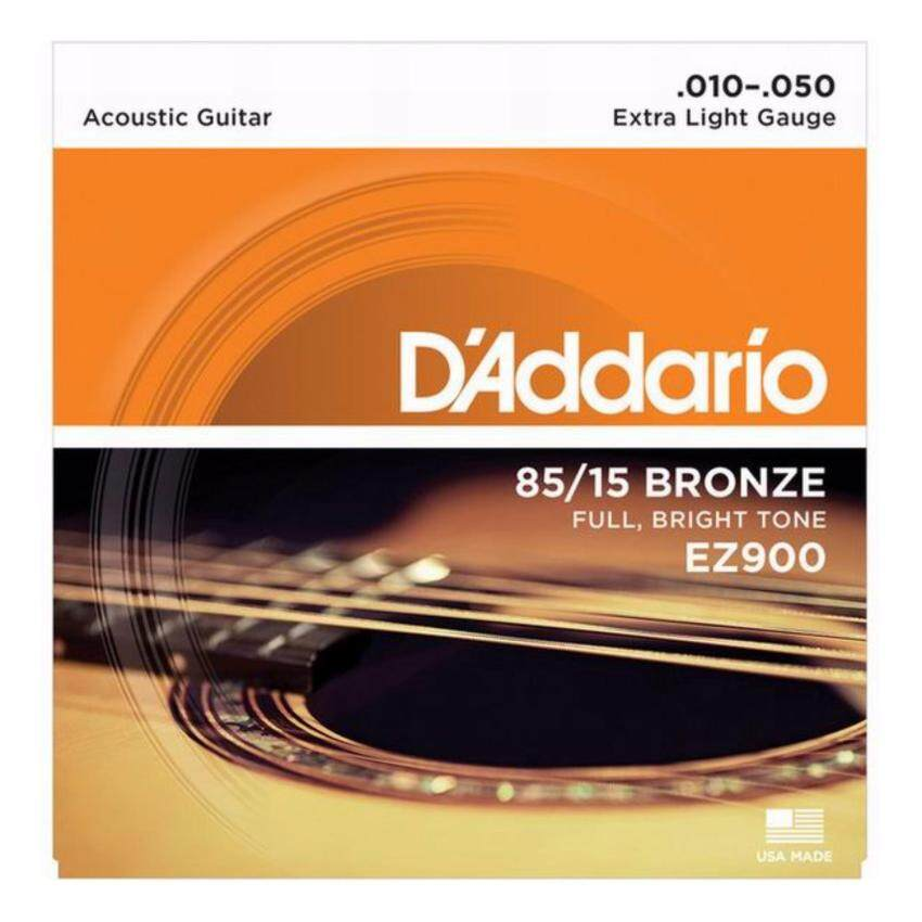 D'Addario สายชุดกีตาร์โปร่ง รุ่น EZ900 010 -050