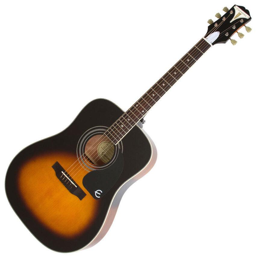 Epiphone กีต้าร์โปร่ง PRO-1 PLUS Acoustic Guitar (Sunburst)