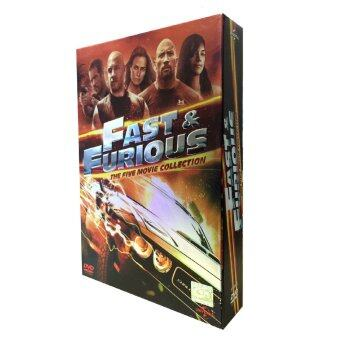 Fast and Furious Boxset (Five Movie Collection)