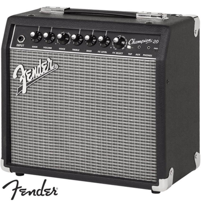 Fender® แอมป์กีตาร์ไฟฟ้า 20W รุ่น Champion 20 (Fender Guitar Amp)