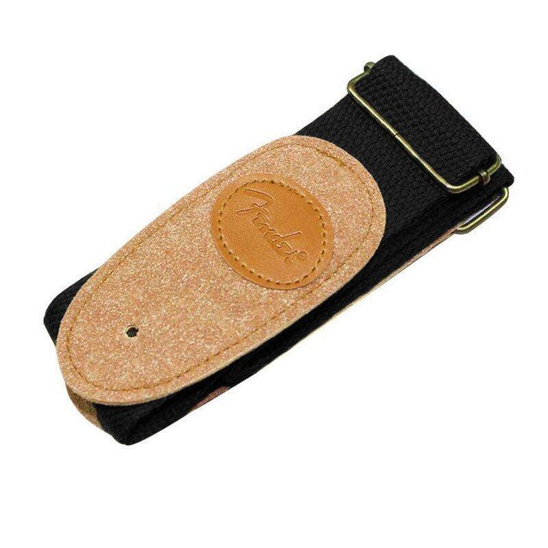 ขาย G2G สายคล้องคอกีต้าร์ Electric Acoustic Guitar Strap Leather สีดำ