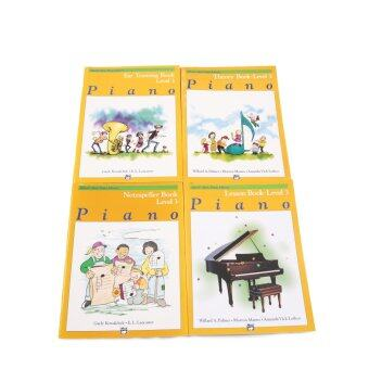 Alfred's Basic Piano Library Level 3 Set