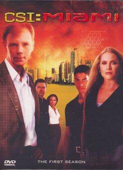 Boomerang CSI Miami Season 1 /ไขคดีปริศนา ไมอามี่ ปี 1 (DVD Box Set 7 Disc)