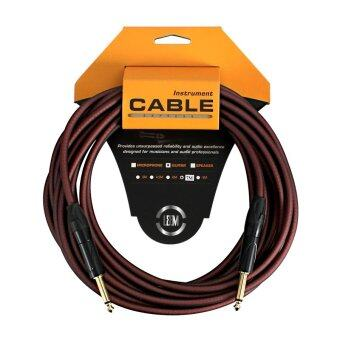 LEEM สายแจ็ค Guitar Cable 23ft./7m.O.D-6.5mm. LRG-X1-7 SS