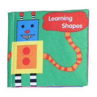 Baby Soft Squeaky Cloth Book(Graph)