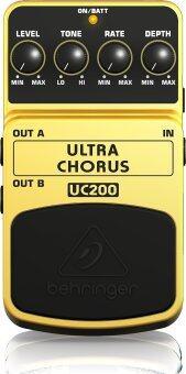 Behringer เอฟเฟคกีตาร์ไฟฟ้า รุ่น UC-200 Ultra Chorus