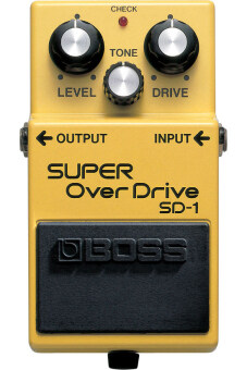 Boss เอฟเฟค SD-1 Super Overdrive Guitar Pedal Effect