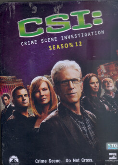 Boomerang CSI Crime Scene Investigation 12/ไขคดีปริศนา เวกัส ปี 12 (DVD 6 Disc Box Set) (Digipack/Metal Box)