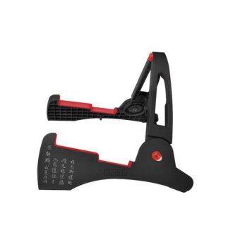 Aroma Stand ขาตั้ง กีต้าร์ รูปทรง กระต่าย Rabbit Guitar Bass Guitar (Black) (image 0)