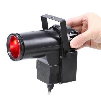 9W full Color Pin RGB LED DJ Effect Light Stage Lighting(Black)(US plug) (Intl) (image 2)