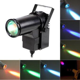 9W full Color Pin RGB LED DJ Effect Light Stage Lighting(Black)(US plug) (Intl) (image 4)