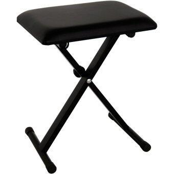 Romeo เก้าอี้เปียโน ปรับสูง-ต่ำได้ 3 ระดับ - สีดำ