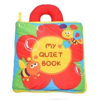 Soft Play Baby Infant safe cute Soft Educational Cloth Book(My Quiet Book )