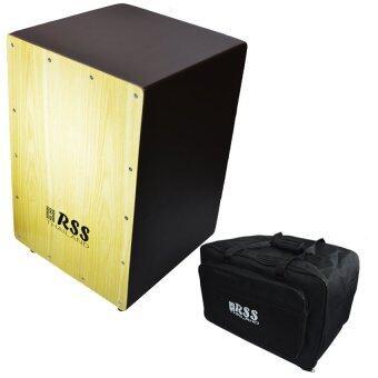 Records RSS กลองคาฮอน cajon Brown + กระเป๋าคาฮอง cajon bag