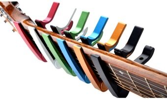 deviser Guitar Capo คาโป้ รุ่น PB - A05 (สีเหลือง) (image 1)