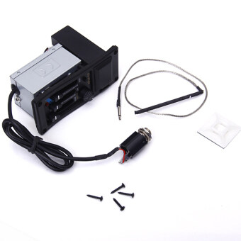 Active 3 Band Guitar EQ Preamp Pickup Piezo For Acoustic Guitar 505R
