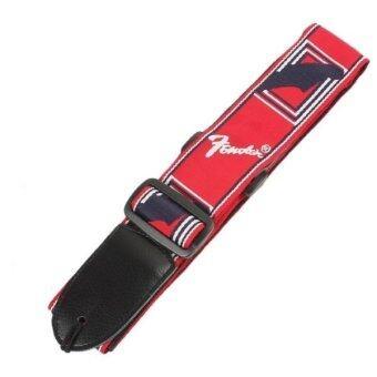 สายสะพายกีตาร์ Fender สีแดง (image 1)