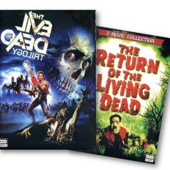 DVD Evil Dead Trilogy & Return Of The Living Dead (6 DVDs)