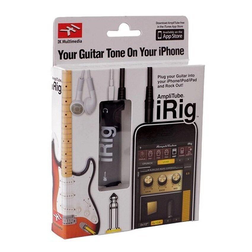 ขาย iRig AmpliTube Effect Guitar อุปกรณ์เพิ่มเอฟเฟคเสียงต่อกีต้าร์ กับ iphone (Black)