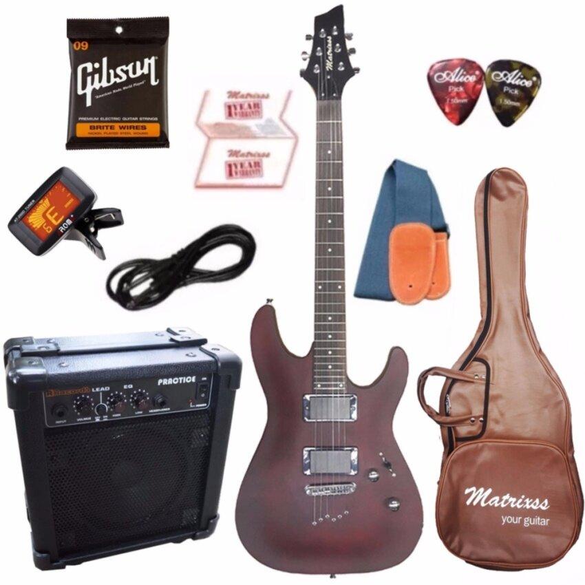 Matrixss กีตาร์ไฟฟ้า Electric Guitar รุ่น ME-20BL Set