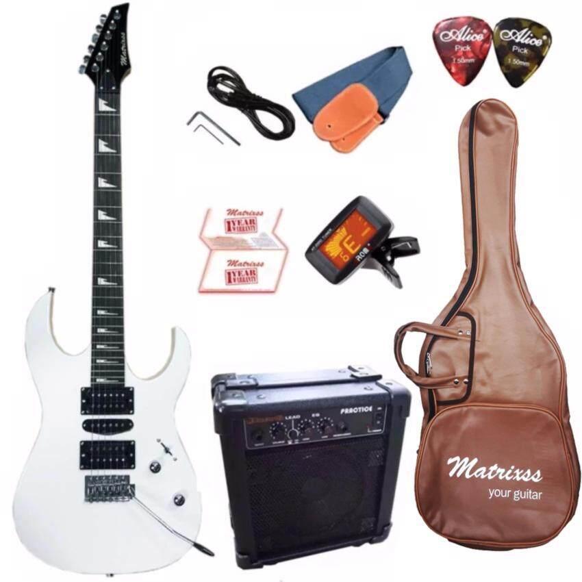 Matrixss กีตาร์ไฟฟ้า Electric Guitar รุ่น ME212RD Set