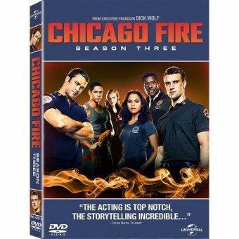 Media Play Chicago Fire Season 3/ชิคาโก้ ไฟร์ หน่วยดับเพลิงท้านรก ปี 3 DVD