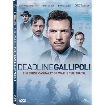 Media Play DEADLINE GALLIPOLI Season 1 Set (4 episodes)/ฝ่าเส้นตายกัลลิโพลี ปี 1 DVD