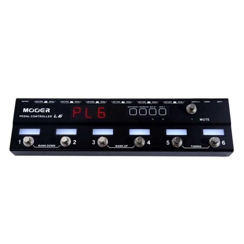 MOOER ลูปเปอร์ เอฟเฟค Pedal Controller L6 (6 CH LooperSwitche)