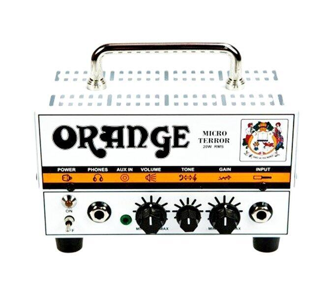 Orange Micro Terror กีต้าร์แอมป์ Guitar Head Amp Micro Terror, 20 Watt