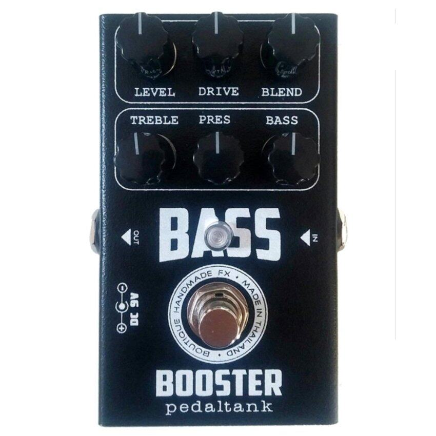 PedalTank Bass Booster สำหรับมือเบส (ลูกบิดดำ)