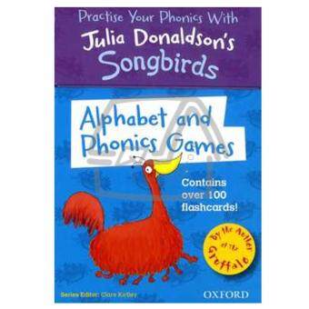 Songbirds Alphabet and Phonics Games Flashcards แฟลชการ์ด โฟนิกส์ (Oxford Reading Tree)