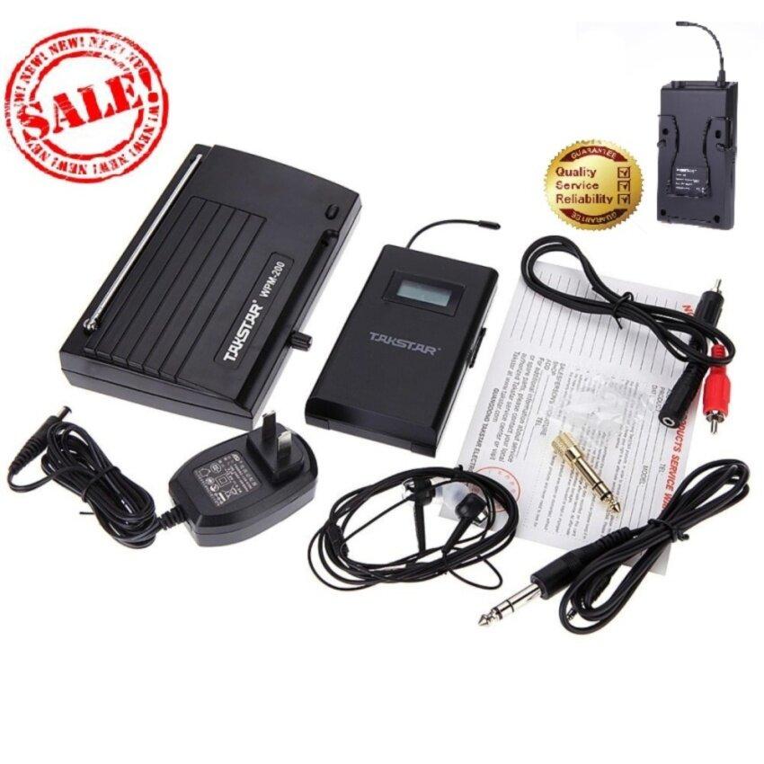มอนิเตอร์ระบบไร้สาย Takstar WPM-200 UHF ( ไม่รบกวนอุปกรณ์ไร้สายประเภทอื่น )