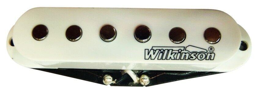 WILKINSON คอนแท็ค กีตาร์ ไฟฟ้าเดี่ยว รุ่น MWVS-Bridge WH