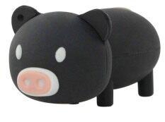 100% Real Capacity Cartoon Pig USB Flash Drive Pen Drive 32GB USB 2.0 Memory Stick Pendrive U Disk Black - Intl