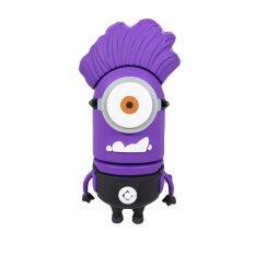 100% Real Capacity Pen Drive Minions Purple One Eye 64GB Usb 2.0 Flash Drive (Purple)