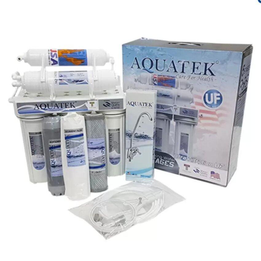 แนะนำ Aquatek เครื่องกรองน้ำ แบบ 5 ขั้นตอน ระบบ UF (Silver) ราคาประหยัด