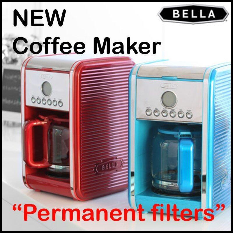 Bella CM-103K1 12-Cup Programmable Coffee Maker (Blue) - intl