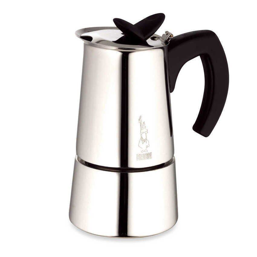 Bialetti MUSA BL-0004273 Restyling Induction 6 CUPS (Silver) ...