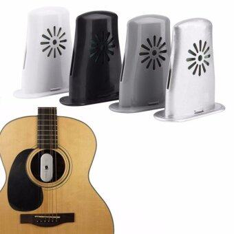 Black Horse 1pc New Acoustic Guitar Sound Holes Humidifier Moisture Reservoir Useful(White) - intl