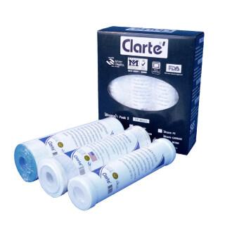 Clarte ไส้กรองน้ำ  รุ่น PP4604 ( ชนิดแพ็ค 3 ชิ้น )