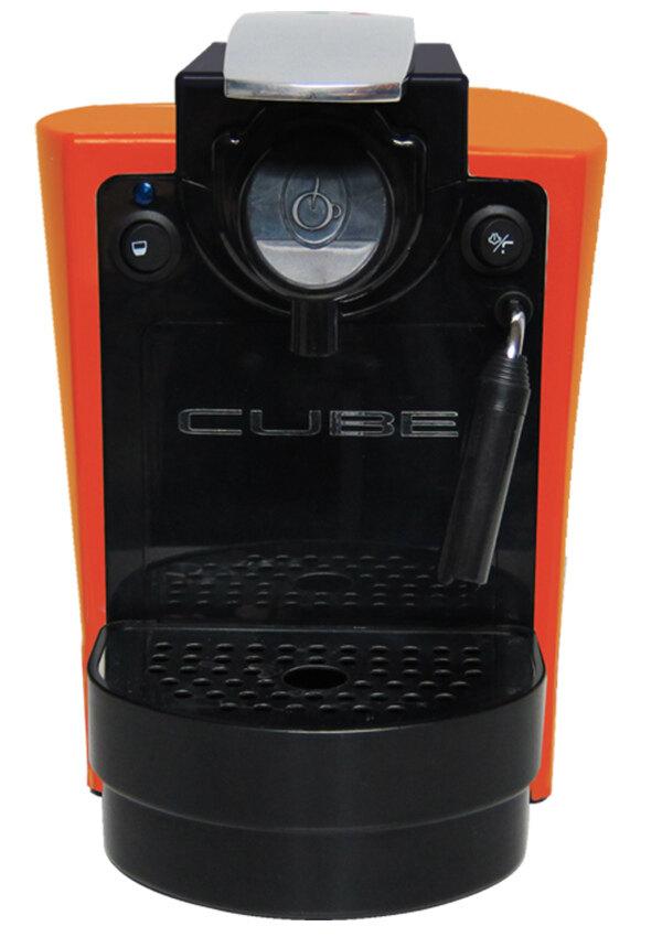 Cube คิวบ์ เครื่องทำกาแฟรุ่น อูโน่ พลัส สำหรับกาแฟลาวาซซา บลู สีส้ม CUBE Uno Plus LB Ora ...