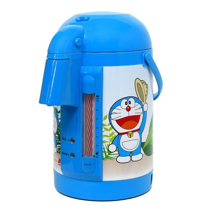Doraemon กระติกน้ำร้อน 600 วัตต์ รุ่น KT-283 ลายโดเรม่อนผจญภัย D-1 (Blue)