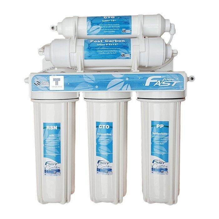 แนะนำ Fast Pure เครื่องกรองน้ำดื่ม 5 ขั้นตอน รุ่นประหยัด ราคาประหยัด