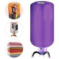 Getservice European Dryer Clothes ตู้อบผ้า เครื่องอบผ้าแห้ง แฟชั่นสไลตร์ยุโรป JYMOL รุ่น JM-Q3 บรรจุ 15 Kg. (สีม่วง)