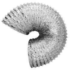 GFLOW ท่อลมระบายอากาศอลูมิเนียมฟอยล์ ชนิดยืดหยุ่น ท่อ 6 นิ้ว ยาว 10 เมตร