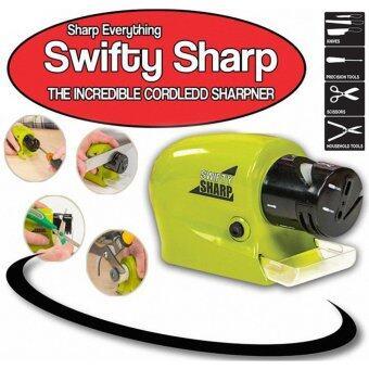 Gifts4U All in 1 เครื่องลับคมมีด กรรไกร ไขควง มีด ทุกชนิด สารพัดประโยชน์ เบาแรง (Swifty Sharp Cordless Motorized Knife Blade Sharpener)