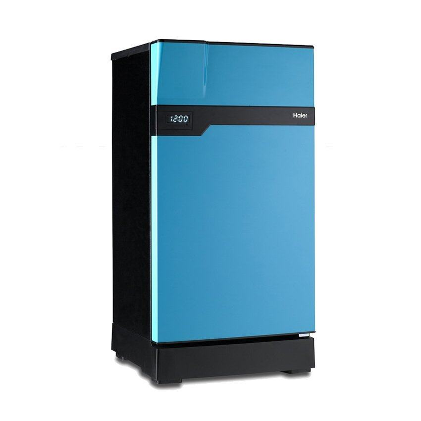 Haier ตู้เย็น 1 ประตู Muse series ขนาด 5.2 คิว รุ่น HR-CEC15-VB (สีฟ้า/ดำ)