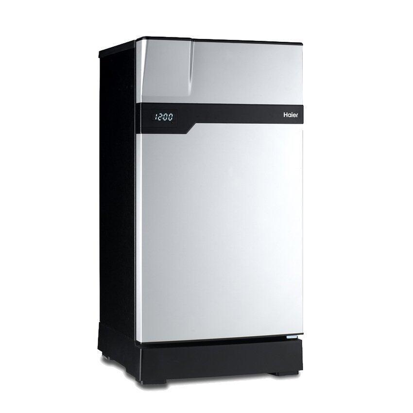 Haier ตู้เย็น 1 ประตู Muse series ขนาด 5.2 คิว รุ่น HR-CEC15-VS (สีเงิน/ดำ)